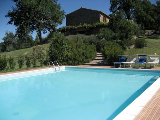 Toscanisches Landhaus mit Pool - Sorano - House
