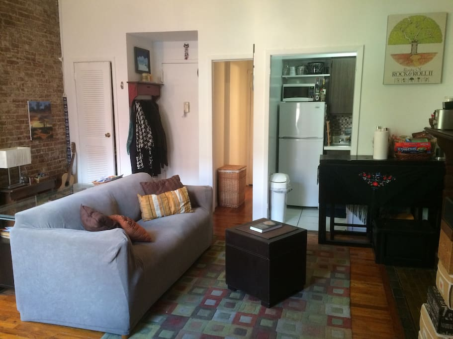 Charming UWS Brownstone 1 BR Apt Near Central Park Apartments For Rent In N