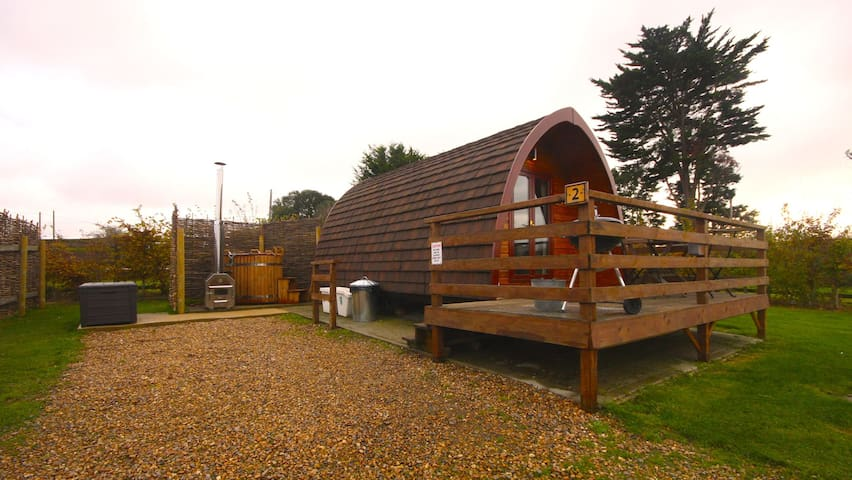 MegaPod 2 at Lee Wick Farm Cottages & Glamping