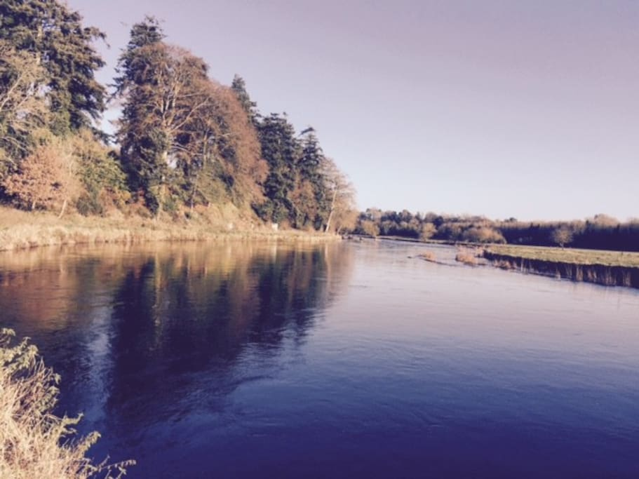 Stunning views of the mythical river Boyne.