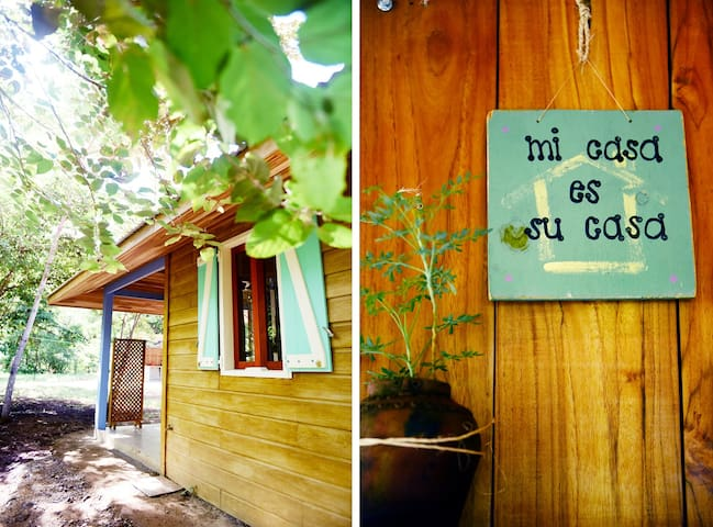 Ecofriendly comfy cabin tierra avellanas beach for Tierra rica apartments
