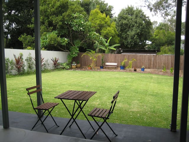 Quiet leafy private locality close to Brisbane CBD