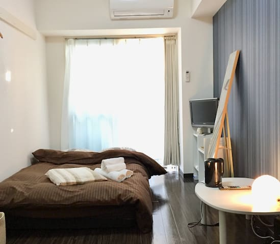 Cozy apartment for 2Person♪Free Wifi