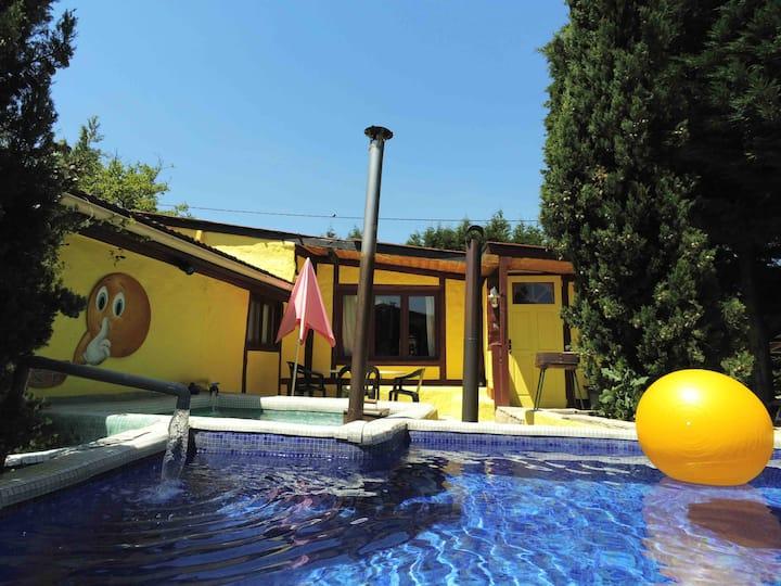 Sauna und Wellness  Ferien im Burgund