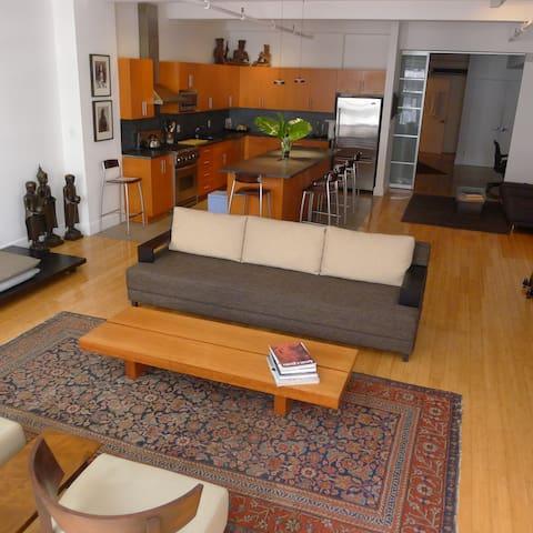 Amazing Chelsea-Flatiron Condo-Loft - New York - Társasház