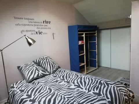 Chambre privée cosy
