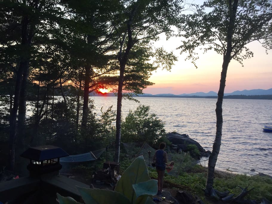 Cozy Cabin on Ambajejus Lake, ME - Cottages for Rent in ...