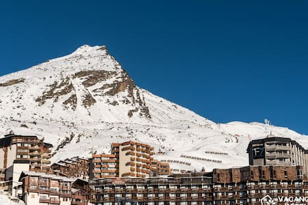 Val Thorens, Olympiades 708, ski-in / ski-out accommodation, up to 10 peopl - Val Thorens