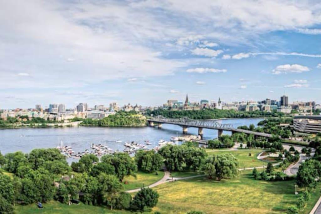 The Postcard View of Ottawa