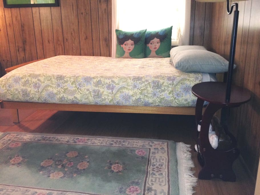Futon for two with new pillow-top mattress
