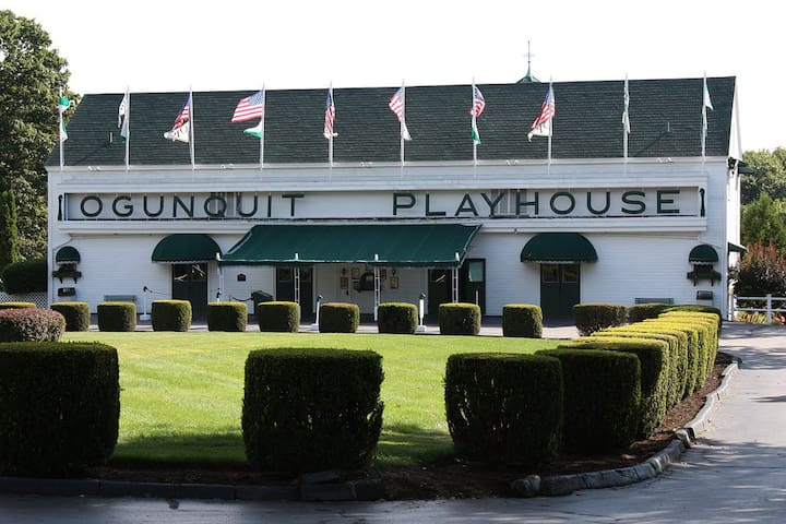 Ogunquit Playhouse Theater is in town and only 10 minutes away
