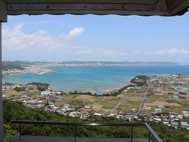 Ocean View/Parking space/Hyakuna Beach/Sefa Utaki