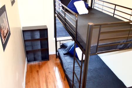 In Spanish Harlem located 5min from Central Park. Also near 6, 2, 3 subway lines. 20-25min to Grand Central or Times Square. It is a shared apartment with kitchen essentials, washer & dryer available, and one bathroom.