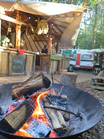 Cosy fire, bed, great breakfast, outdoor kitchen! - Groningen - Leilighet