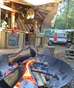 Cosy fire, bed, great breakfast, outdoor kitchen! - Groningen