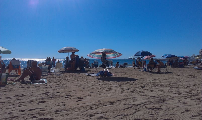Strand (7 Gehminuten)