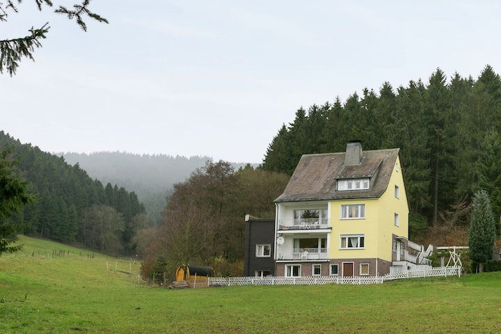 Cozy Holiday Home in Niedersalwey with Sauna