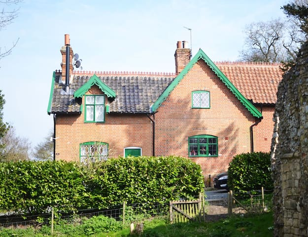 Gorgeous 3 bedroom cottage by sea - Dunwich - Casa