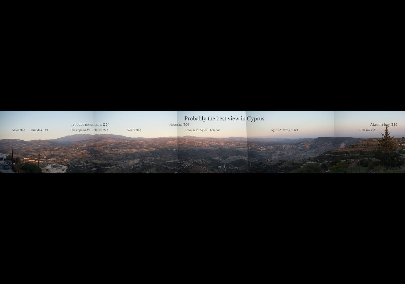 Probably the best view in Cyprus