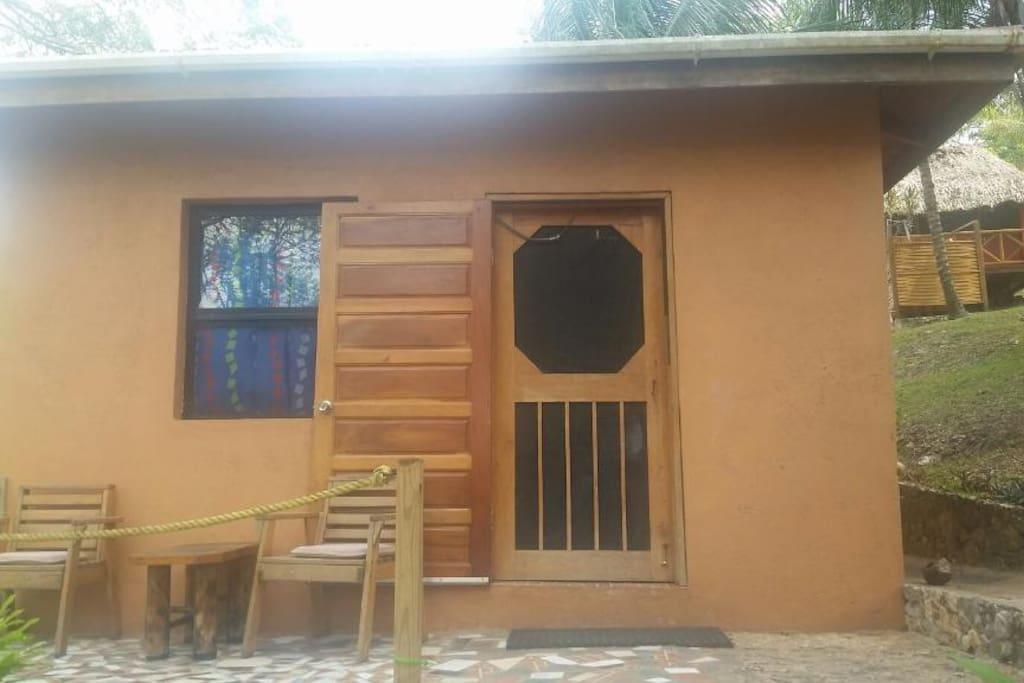 Entrance to the Modern Cabana
