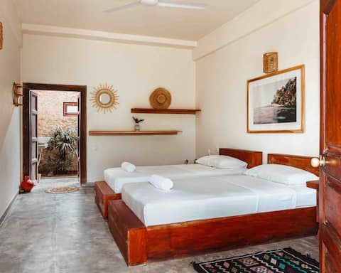 Gitano House • Twin 'Bells Beach' Garden Suite