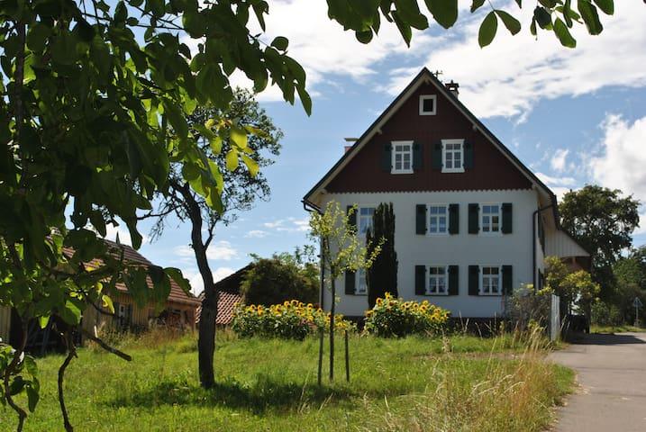 Ferienhaus Nordschwarzwald, (Neuweiler), Ferienhaus mit Garten und Kamin, 140qm, 4 Schlafzimmer, max. 7 Personen