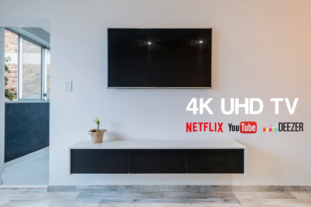 4K UHD TV with Netflix, YouTube, Deezer and much more