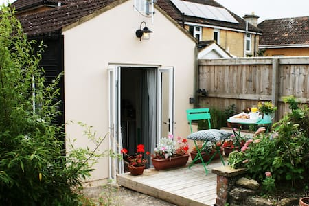 Garden studio in picturesque town