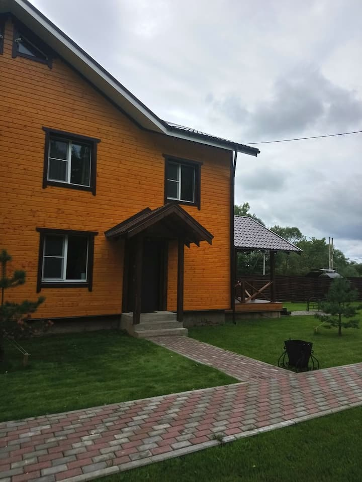 """Дачный отель """"Лесные Поляны"""" коттедж 6"""