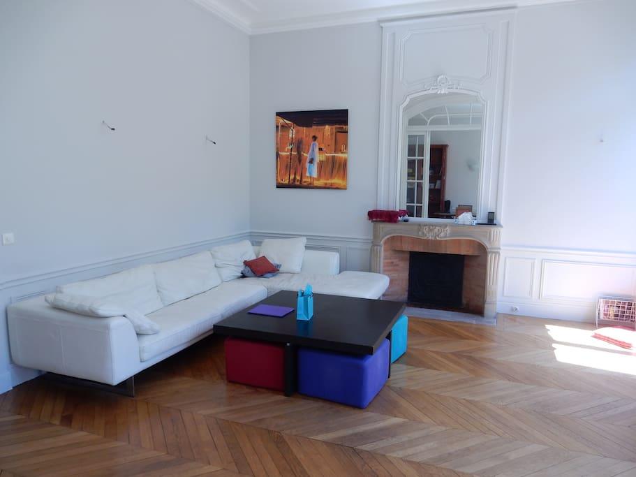 Salon principale canapé 7 places