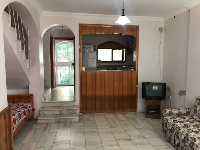 2 storey house and  close to the beach