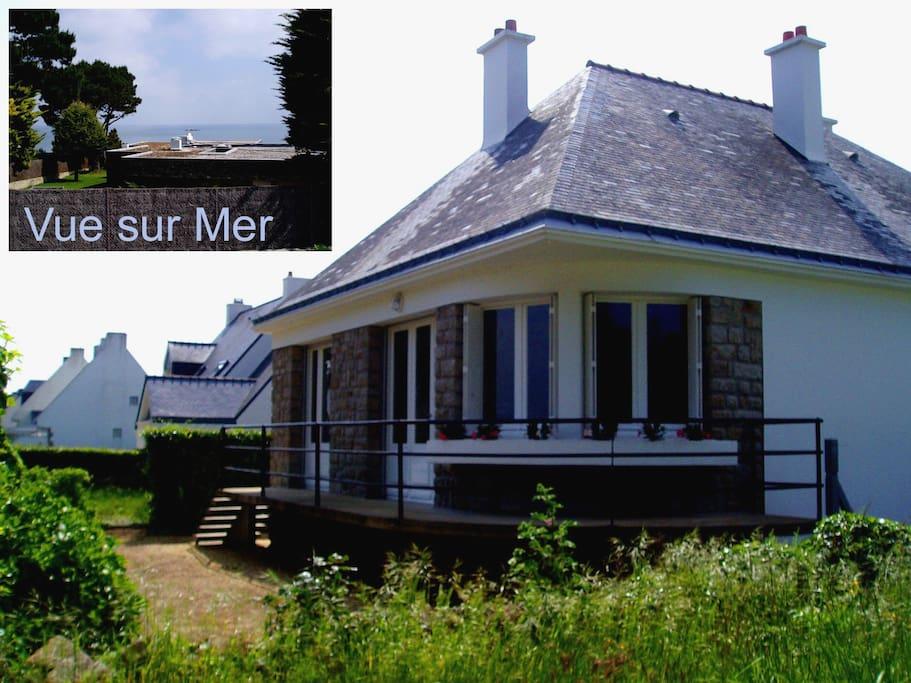 maison AVANT pose de terrasse et rénovation