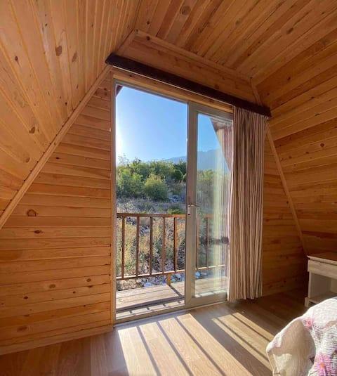 Cozy mountain house