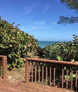 Petite oceanfront paradise cottage! - Melbourne Beach