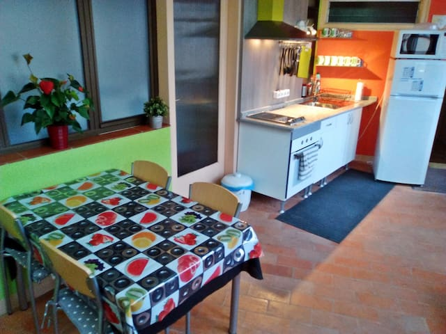 Habit. triple a 100 metres centre i   200  estany - Banyoles - Bed & Breakfast