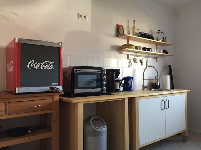 2 Zimmer/App. mit kleiner Terrasse - Hannover - Apartment
