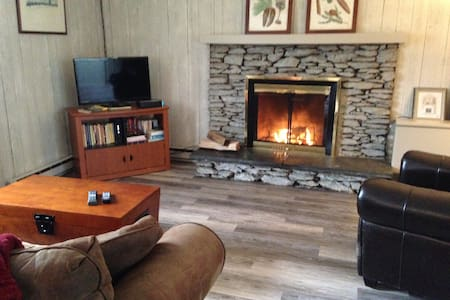 Cozy Ski Cabin Minutes from Stratton, Bromley - Manchester Center