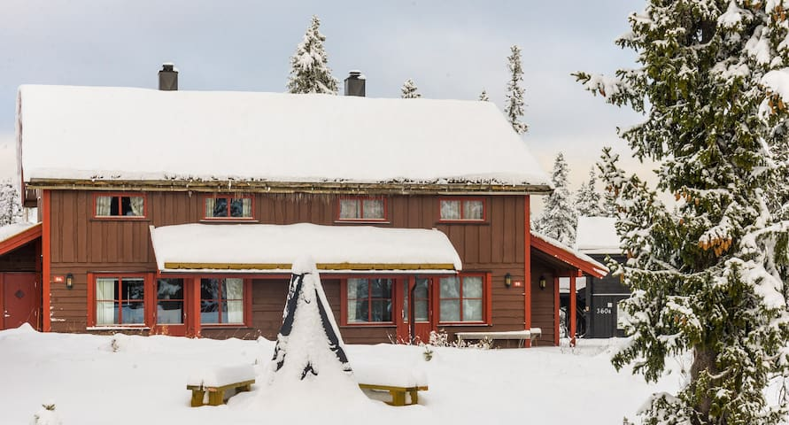 Fageråsen, Trysil - Ski inn/out - Langrenn 20meter - Trysil - Flat
