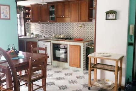 Appartamento vista mare con garage - Falerna - Huoneisto