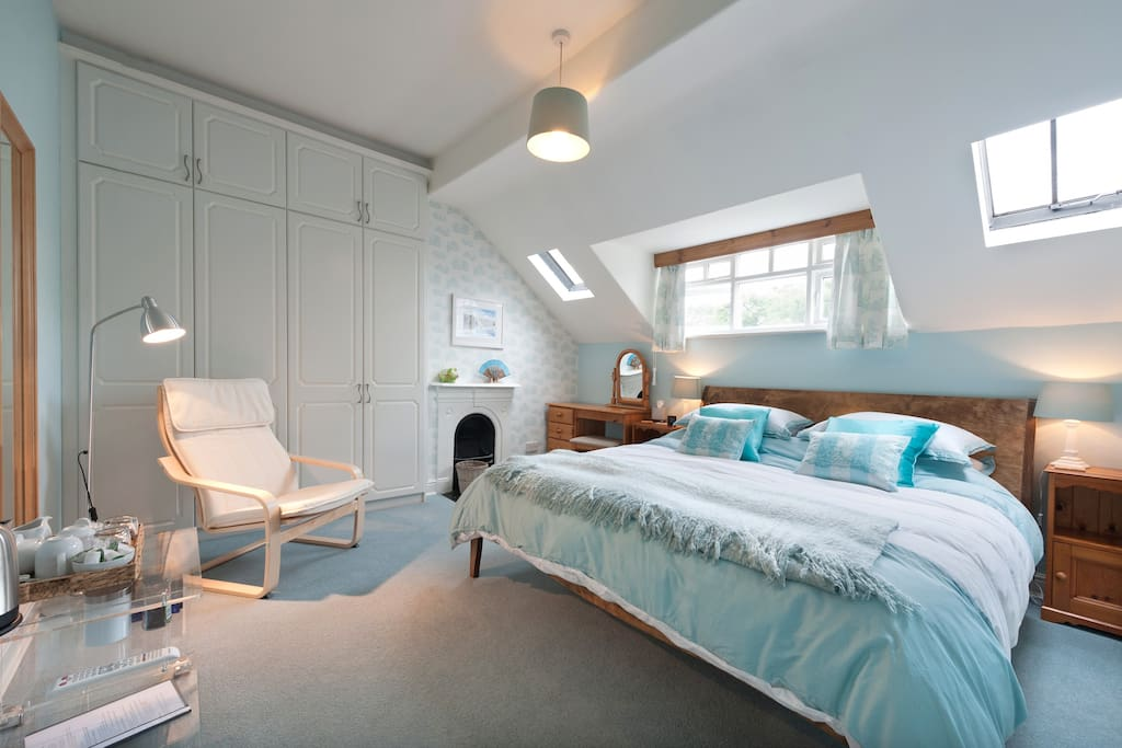 Light and airy top floor room