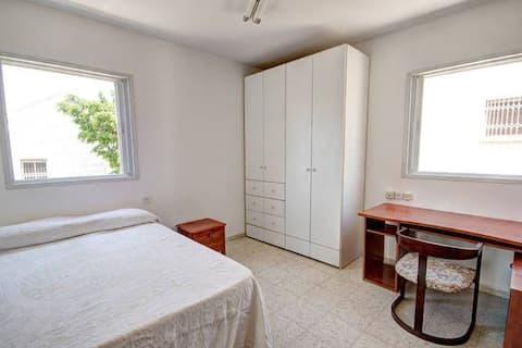 Private Room near Mediterranean Sea