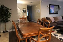 Dining area with seating for to up 8