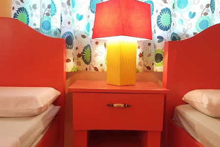 ☆Colorful 1BR/4pax-Samal island☆ - Island Garden City of Samal