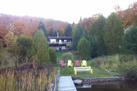 Lake Front Cottage, Lac du Coeur. - Saint-Adolphe-d'Howard - Cabin - 2