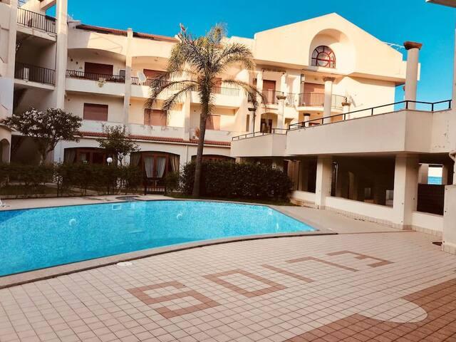 Appartamento 50 m.dal mare -6 posti letto 3.camere