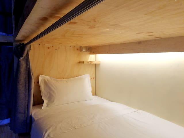1 Bed in 4 Bed Male Dorm, Mansion Hostel