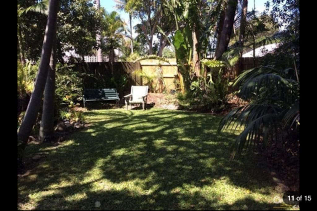 Spacious, fully fenced yard for kids and pets to run free!