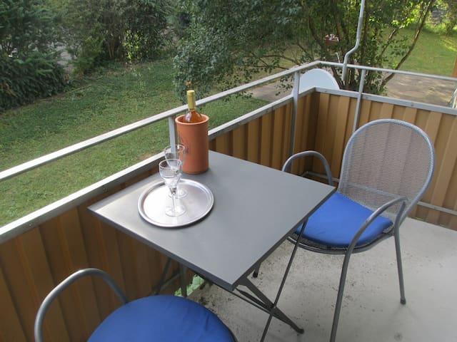 1-Zimmerwohnung im Grünen - Rümlang - Apartament