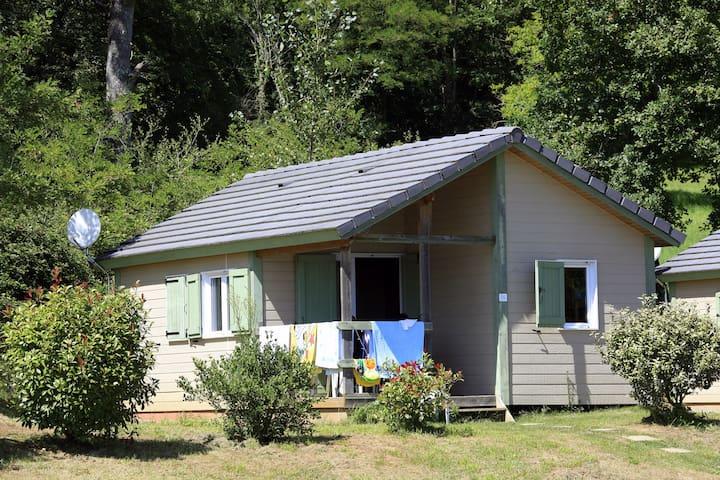 Chalets 4 personnes avec piscine proche Dordogne - Lissac-sur-Couze - Chalet