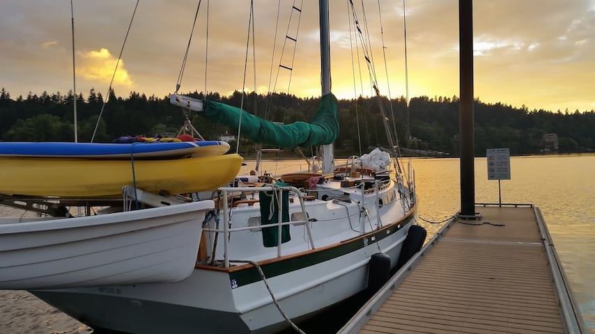 Classic 40' Yacht in the Heart of Portland - Portland - Barco